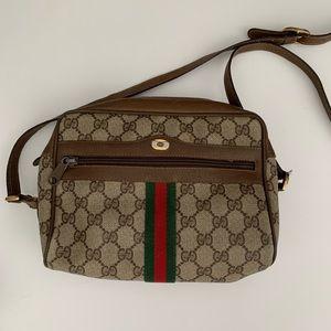 Gucci Vintage Ophidia Small GG Supreme Crossbody